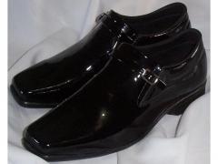Sapato Masculino Couro Bovino Verniz Legítimo -