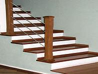 A Escada de Madeira