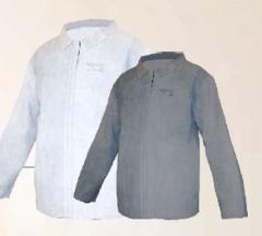 Blusão de raspa ou vaqueta para soldador