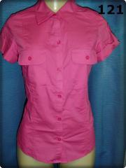 Blusa Rosa Marca TRF Zara