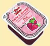 Geleia de morango diet