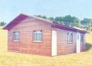 Madeiramento para telhado e casas pré-cortadas