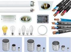 Os produtos elétricos