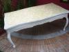 Mobília cinzelada Xv de Luis, mesas de centro