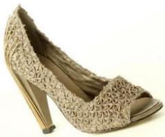 Feminino artesanal de calçados