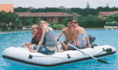 Barco inflável desmontável