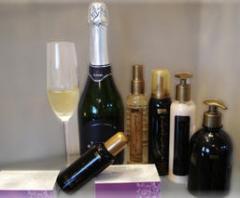 Cosméticos, Linha Champagne