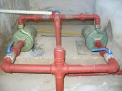 Bombeamento de água do sistema