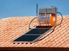 Aquecedores de agua solar