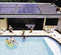 Sistemas de aquecimento solar de piscina