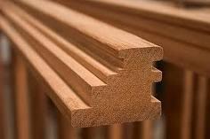Blocos de janelas e componentes de madeira