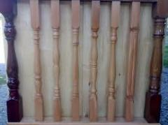 Madeira balusters