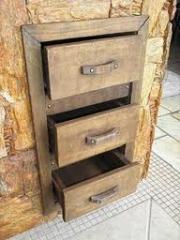 Produtos decorativos feitos de madeira