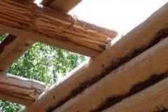Arcos,vigas em madeira