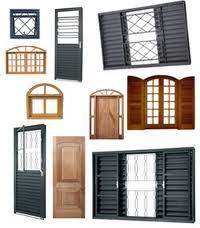 Janelas e acessorios de madeira
