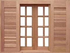 Janelas de madeira e acessorios