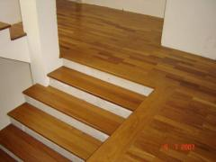 Material para escadas e interiores