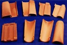 Telha ceramica