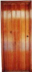 Portas em madeira natural
