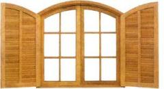 Janelas de madeira