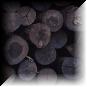 Tarugos, barras de madeira industrial