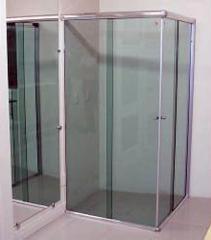 Cabines chuveiro em vidro