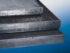 Laminados de aço carbono grosso