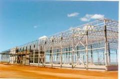 Estruturas metalicas para galpões metálicos,