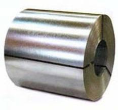Aco galvanizado em rolos