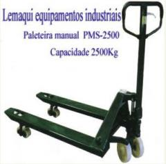 Paleteira - Carrinho hidráulico - Transpalete -