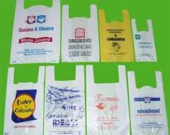 As embalagens secundárias, sacos de encolher