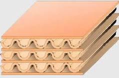 Caixas de 3 camadas de papelao ondulado