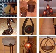 Pecas decorativos em madeira