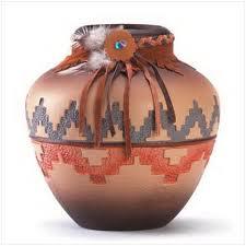 Produtos decorativos feitos em ceramica