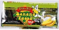 Banana Passa Premiun Sem Açúcar 50g e 100g
