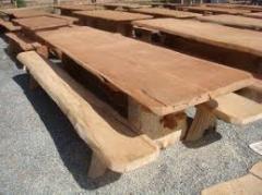 Moveis de jardim em madeira