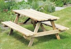 Mesas de jardim