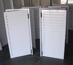 Portas de perfis de aluminio