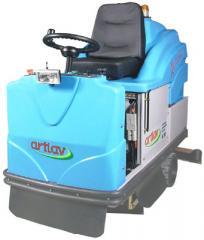 Lavadora automática de pisos industrial a bateria