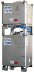 Contentor intermediário para granéis (IBC) em aço