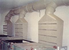 Sistema de captação de gases