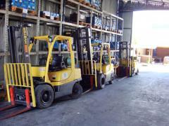 Manutenção para empilhadeiras
