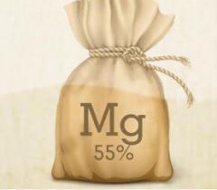 Óxido de Magnésio 55%