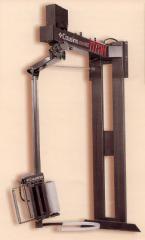 Envolvedora de paletes semi-automática de braço