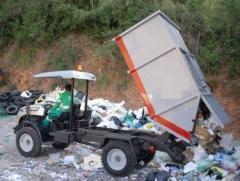 Coletor compactador de lixo