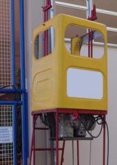 Cesto elétrico motorizado