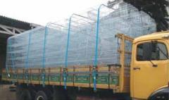 Sistema de amarração de carga seca