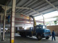Estrutura Mezanino - Centro de Convenções