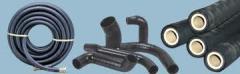 As mangueiras de borracha flexível e tubos