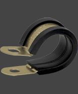 Abraçadeiras com Borracha 12 mm - 15 mm